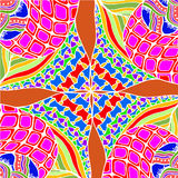 Abstrakcjonistyczny tło geometrical wzorów rysować Zdjęcie Stock