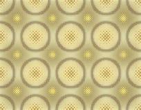 abstrakcjonistyczny tło halftoned bezszwowy wektor Obrazy Royalty Free