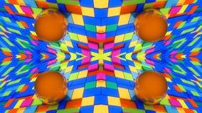 Abstrakcjonistyczny tło i kolory Zdjęcia Royalty Free