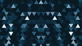 Abstrakcjonistyczny tło 8 kawałka minimalizmu trójboków Abstrakcjonistyczni geometryczni kształty, abstrakcjonistyczny tło od geo ilustracja wektor