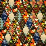 Abstrakcjonistyczny tło - kolaż Obraz Stock
