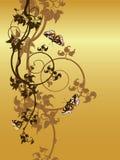 abstrakcjonistyczny tło kwiecisty Fotografia Stock