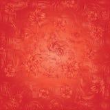 abstrakcjonistyczny tło kwitnie czerwień Obraz Stock
