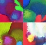 abstrakcjonistyczny tło malująca akwarela Zdjęcia Stock