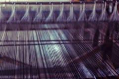Abstrakcjonistyczny tło nić na bobinie Obraz Stock