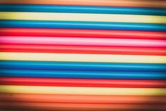 Abstrakcjonistyczny tło od wiele kolor słoma zdjęcia royalty free
