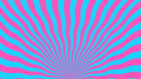 Abstrakcjonistyczny tło od wyginać się niebieskich linii i menchii ilustracji