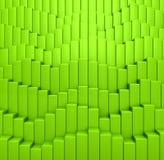 Abstrakcjonistyczny tło od zieleń barwionych sześcianów Obrazy Stock