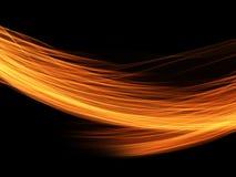 Abstrakcjonistyczny tło ogniste spływanie linie royalty ilustracja