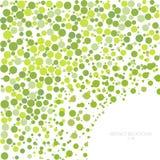 Abstrakcjonistyczny tło okrąg Kreatywnie szablon dla projekta ilustracja wektor