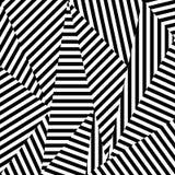 Abstrakcjonistyczny tło pasiaści kształty ilustracja wektor