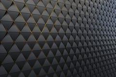 Abstrakcjonistyczny tło poligonalny kształt Fotografia Stock