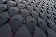 Abstrakcjonistyczny tło poligonalny kształt Fotografia Royalty Free