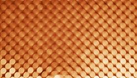 Abstrakcjonistyczny tło, pomarańczowy bokeh na czerni fotografia stock