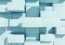 Abstrakcjonistyczny tło pudełko pławik Obrazy Stock