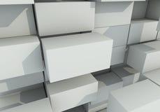 Abstrakcjonistyczny tło pudełko pławik Zdjęcie Royalty Free