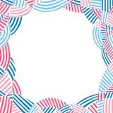 Abstrakcjonistyczny tło, rama z miejscem dla teksta Zdjęcia Royalty Free