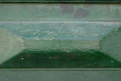 Abstrakcjonistyczny tło reliefowa drewniana powierzchnia różni cienie zielony kolor, zielony reliefowy tło Zdjęcie Stock
