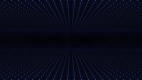 Abstrakcjonistyczny tło robić szyk punkty Ruszać się przez abstrakcjonistycznej fractal punktu matrycy kratownicy Lata w geometry ilustracja wektor