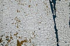 Abstrakcjonistyczny tło, stara krakingowa tynk ściana, błękitna tekstura, pai Zdjęcie Stock