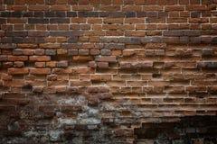 Abstrakcjonistyczny tło stary brickwork. Stary, krakingowy, wietrzejący br, Zdjęcie Royalty Free