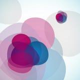 abstrakcjonistyczny tło stylizował Obrazy Stock