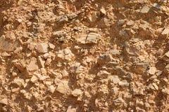 Abstrakcjonistyczny tło, suszy skałę w lecie obraz stock