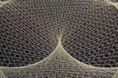 Abstrakcjonistyczny tło sznurek nici brać obraz stock