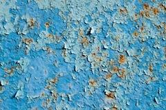Abstrakcjonistyczny tło uszkadzający metal Zdjęcie Royalty Free