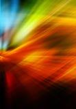 Abstrakcjonistyczny tło w czerwieni, kolorze żółtym, zieleni i błękicie, ilustracja wektor