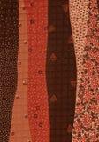 Abstrakcjonistyczny tło w jesień kolorach Fotografia Royalty Free