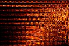 Abstrakcjonistyczny tło w kolorze płomień ilustracji