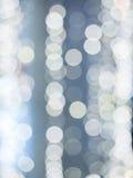 Abstrakcjonistyczny tło z białym bokeh defocused Obraz Royalty Free