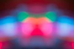 Abstrakcjonistyczny tło z bokeh defocused cieniem i światłami Zdjęcie Royalty Free