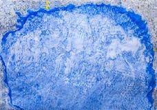 Abstrakcjonistyczny tło z ciekłą farbą kiedy było tła może pouczać tekstury marmurem użyć Obrazy Royalty Free
