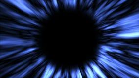 Abstrakcjonistyczny tło z czarną dziurą Astronautyczny tło ilustracja wektor