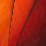 Abstrakcjonistyczny tło z czerwieni i pomarańcze warstwami Zdjęcia Stock