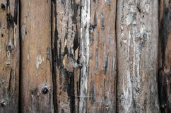 Abstrakcjonistyczny tło z drewnianą ścianą obraz royalty free