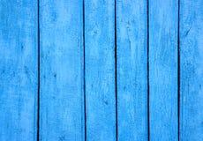 Abstrakcjonistyczny tło z drewnianą ścianą malował w błękicie obrazy royalty free