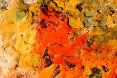 Abstrakcjonistyczny tło z koloru ciecza teksturą Obrazy Stock