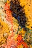 Abstrakcjonistyczny tło z koloru ciecza teksturą Obraz Royalty Free