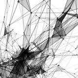 Abstrakcjonistyczny tło z kropkowaną siatką Zdjęcia Royalty Free