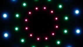 Abstrakcjonistyczny tło z promieniowymi światłami royalty ilustracja