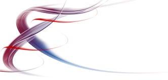 Abstrakcjonistyczny tło z przecinającymi liniami Fotografia Royalty Free