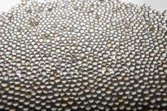 Abstrakcjonistyczny tło z sylikatowego gel piłkami na białym tle obraz royalty free