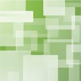 Abstrakcjonistyczny tło z zieleń płatowatymi prostokątami Zdjęcie Royalty Free