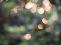 Abstrakcjonistyczny tło zaświeca bokeh zdjęcie royalty free