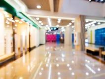 Abstrakcjonistyczny tło zakupy centrum handlowe, płytki DOF Obraz Royalty Free