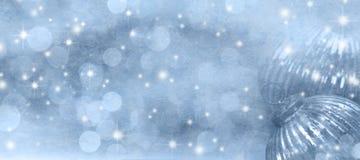 Abstrakcjonistyczny tło zimy sezon obraz royalty free