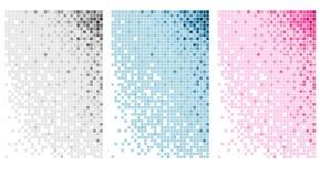 abstrakcjonistyczny tła bloku set Obrazy Stock
